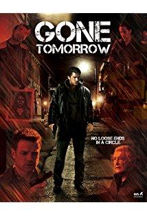 Gone Tomorrow kapak