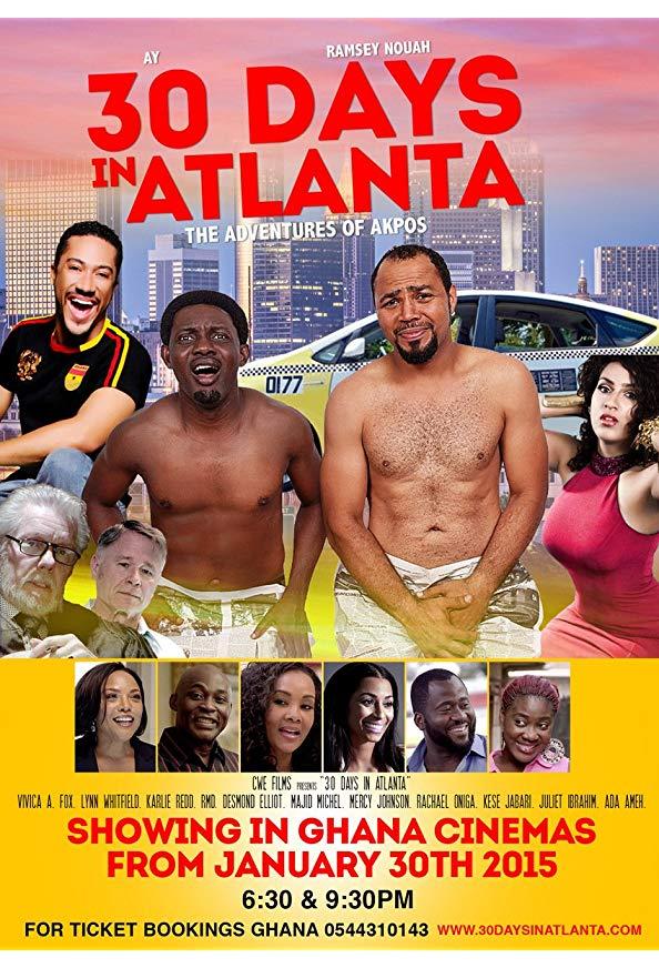 30 Days in Atlanta kapak