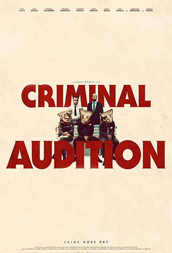 Criminal Audition kapak