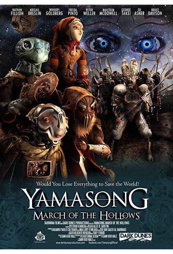 Yamasong: March of the Hollows kapak