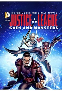 Justice League: Gods and Monsters kapak
