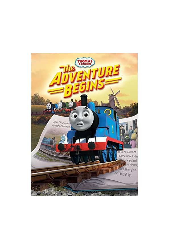 Thomas & Friends: The Adventure Begins kapak