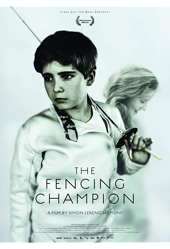 The Fencing Champion kapak