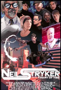 Neil Stryker and the Tyrant of Time kapak