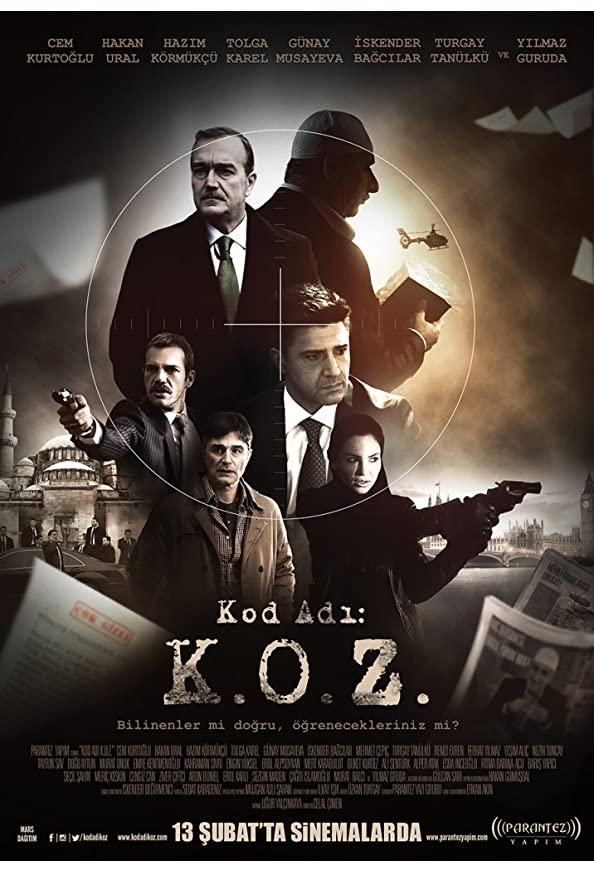 Code Name: K.O.Z. kapak