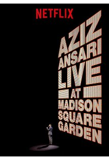 Aziz Ansari Live in Madison Square Garden kapak