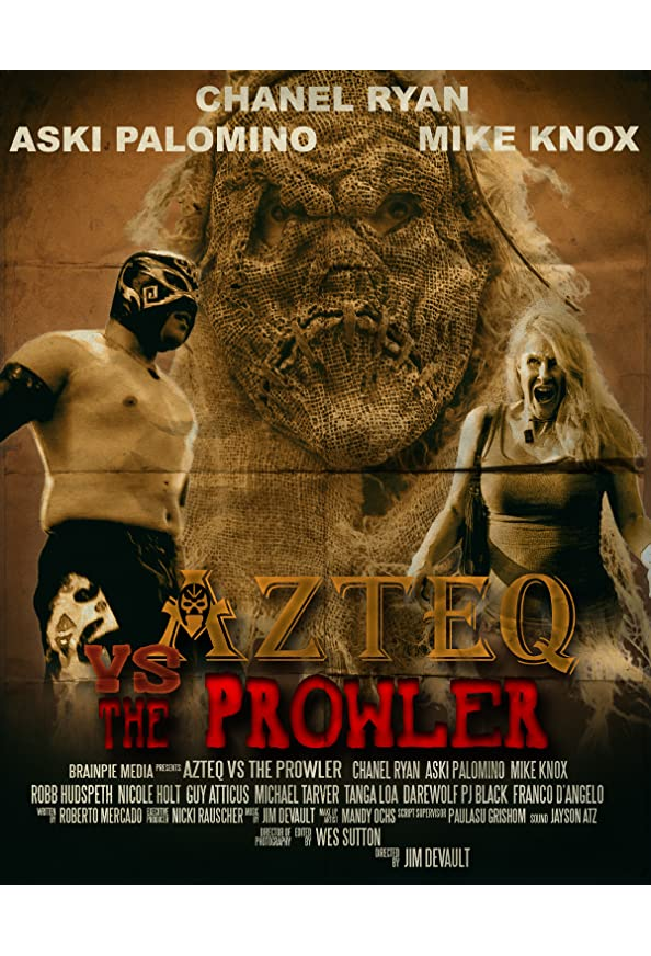 Azteq vs the Prowler kapak
