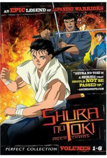 Shura no Toki: Age of Chaos kapak