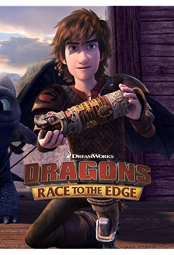 Dragons: Race to the Edge kapak