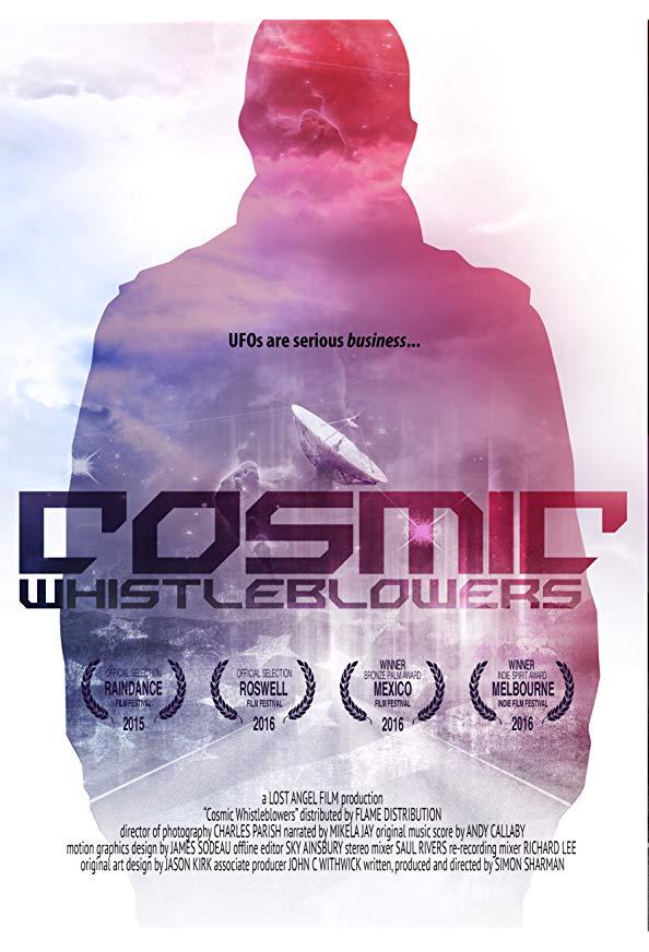 Cosmic Whistleblowers kapak