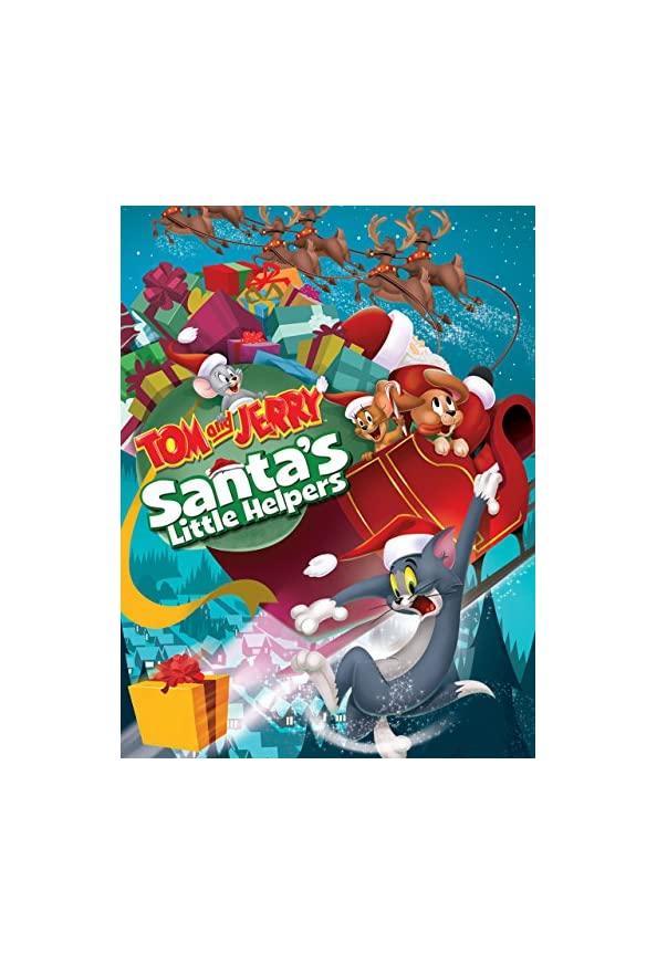 Tom and Jerry: Santa's Little Helpers kapak