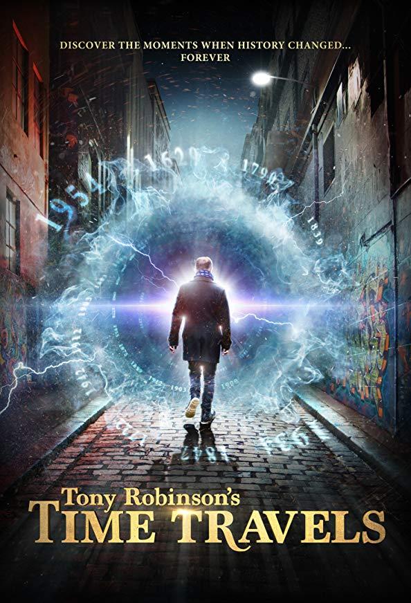 Tony Robinson's Time Travels kapak
