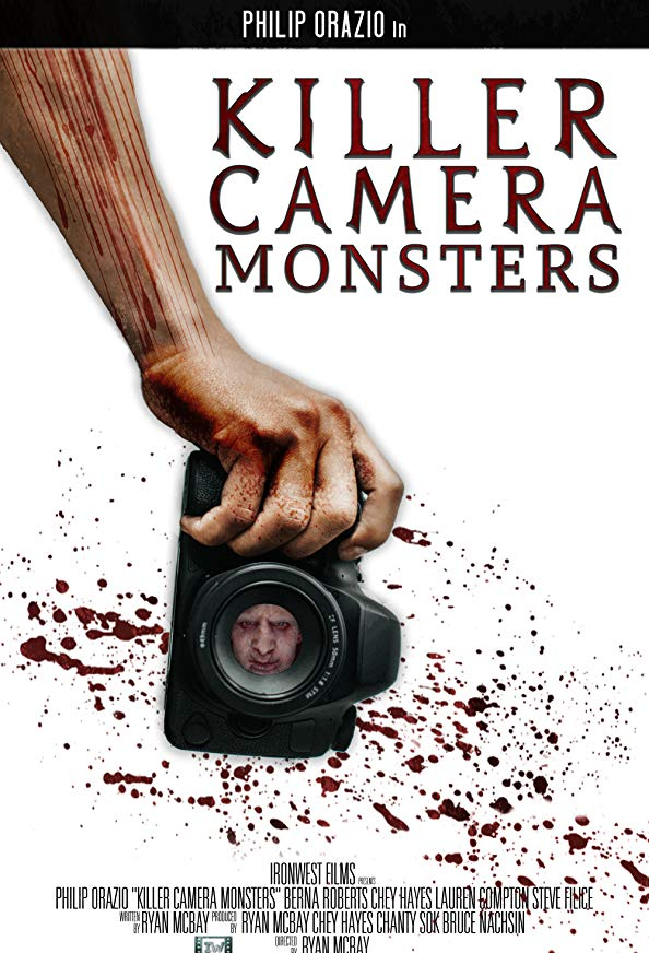 Killer Camera Monsters kapak
