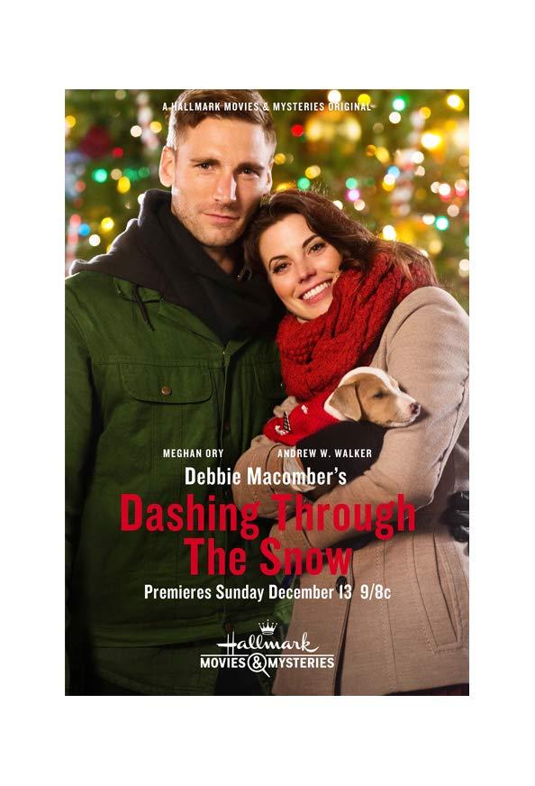 Debbie Macomber's Dashing Through the Snow kapak