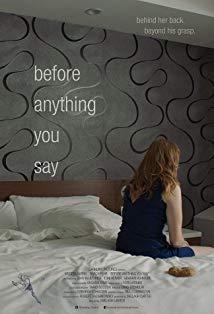 Before Anything You Say kapak