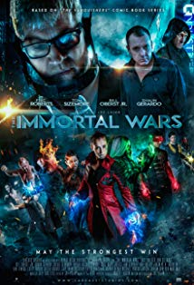 The Immortal Wars kapak