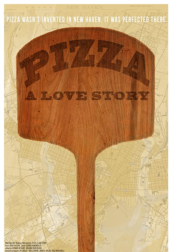 Pizza: A Love Story kapak