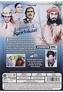 """The Return of Sandokan"" Episode #1.1 kapak"