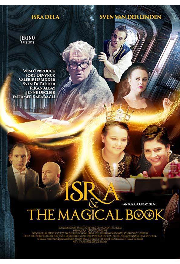 Isra en het magische boek kapak