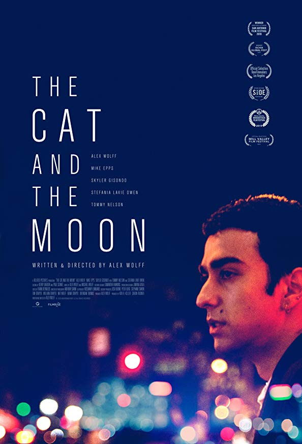 The Cat and the Moon kapak
