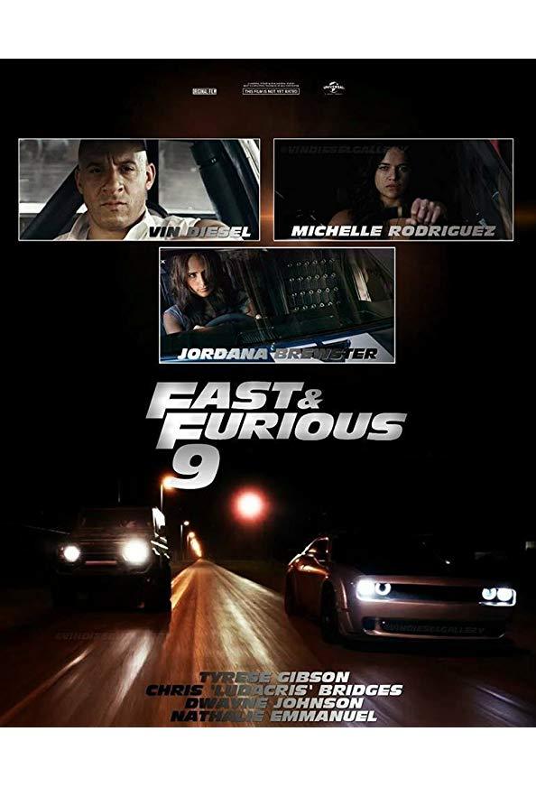 Fast & Furious 9 kapak