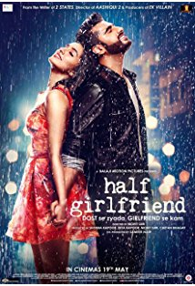 Half Girlfriend kapak