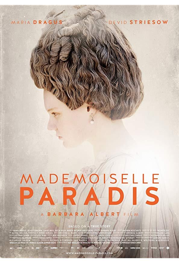 Mademoiselle Paradis kapak