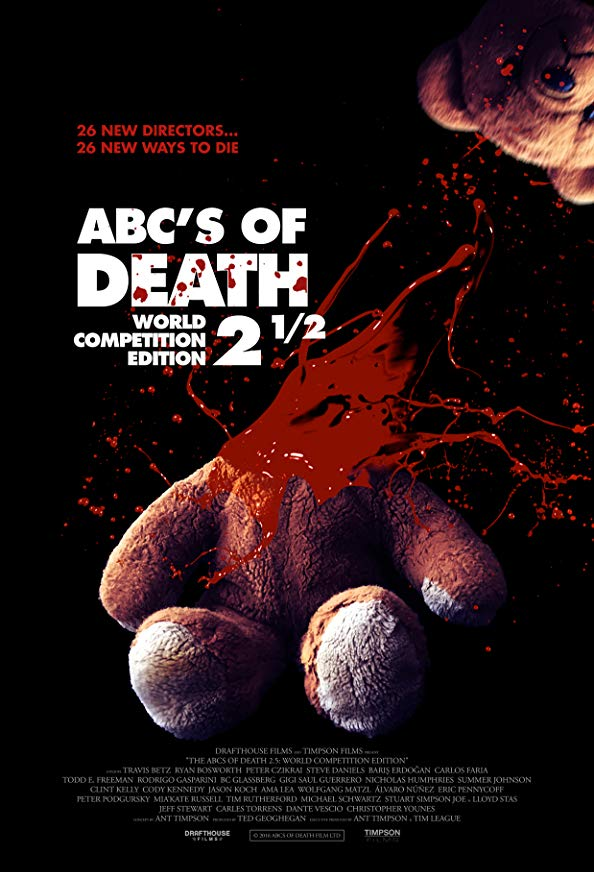 ABCs of Death 2.5 kapak
