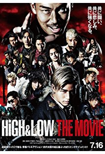 High & Low: The Movie kapak