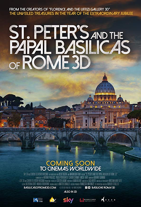 St. Peter's and the Papal Basilicas of Rome 3D kapak