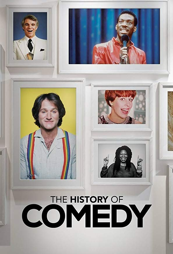The History of Comedy kapak