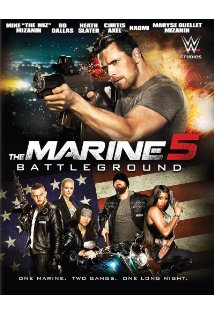 The Marine 5: Battleground kapak