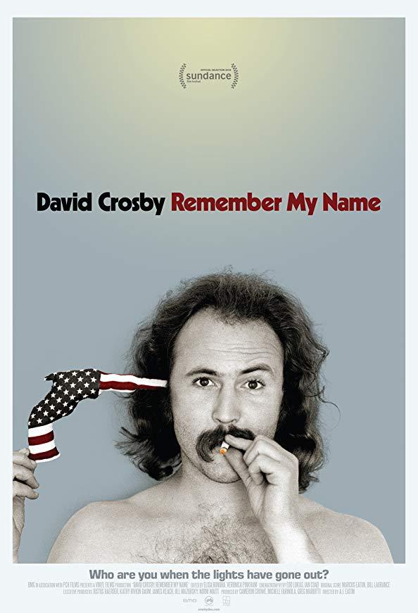 David Crosby: Remember My Name kapak