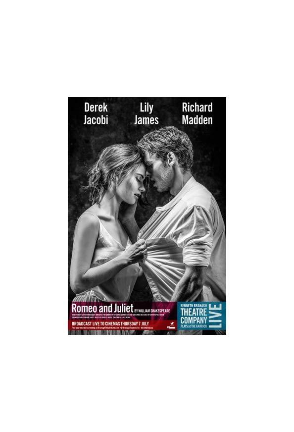 Branagh Theatre Live: Romeo and Juliet kapak