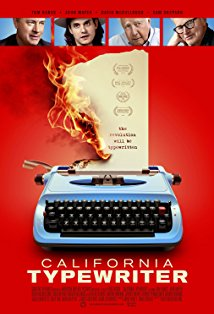 California Typewriter kapak