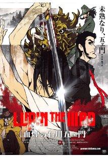 Lupin the Third: The Blood Spray of Goemon Ishikawa kapak
