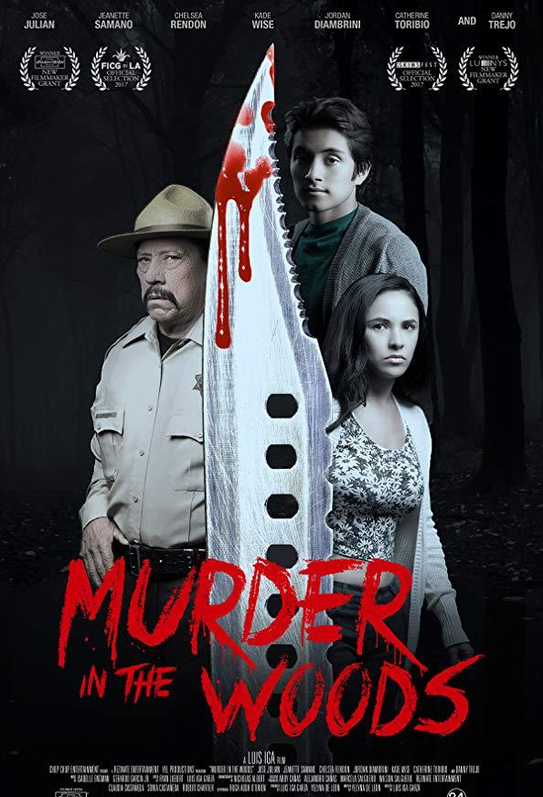 Murder in the Woods kapak