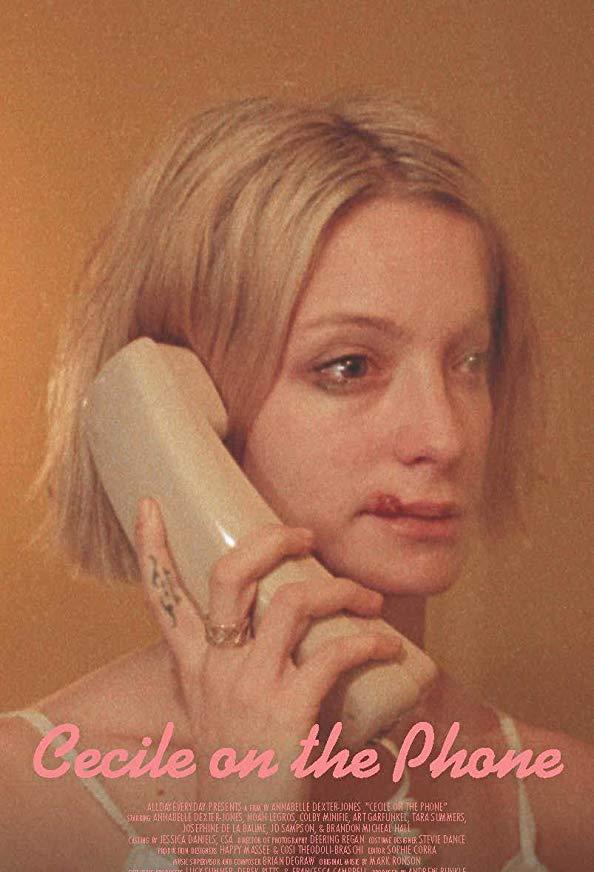 Cecile on the Phone kapak