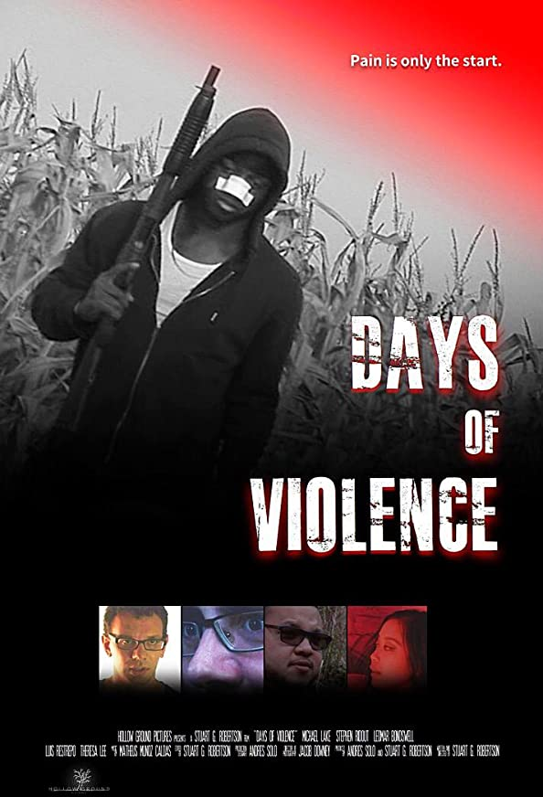 Days of Violence kapak