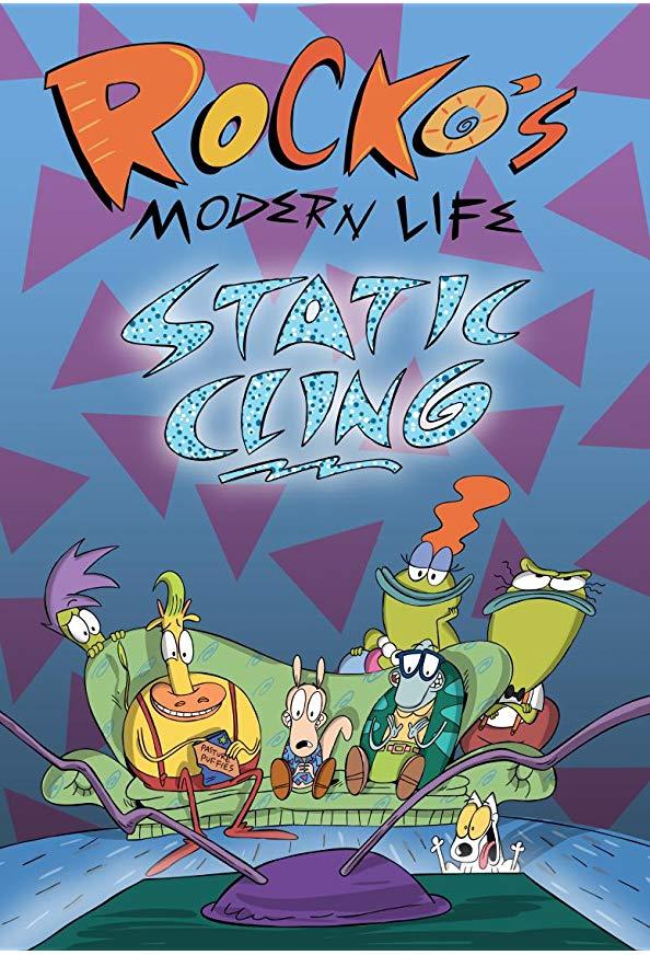 Rocko's Modern Life: Static Cling kapak