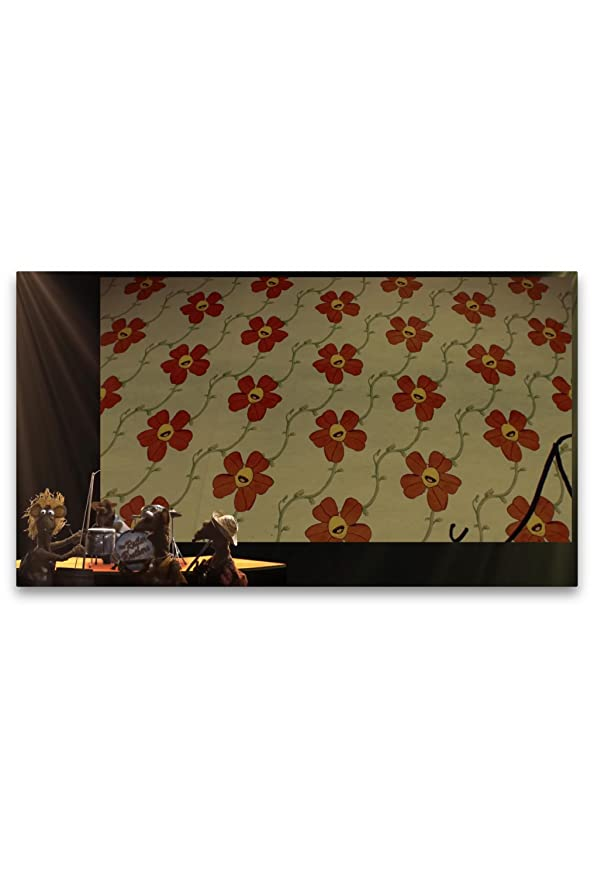 The Muppets: Flowers on the Wall kapak