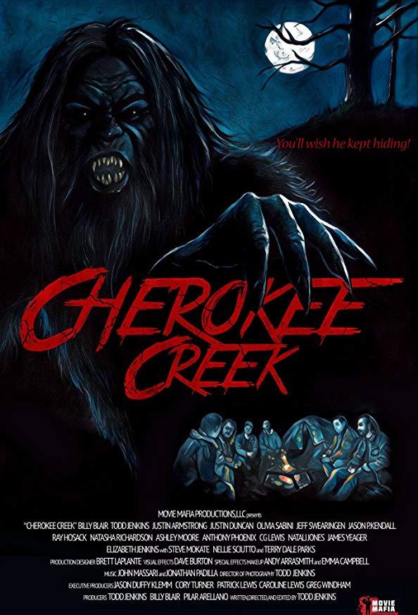 Cherokee Creek kapak