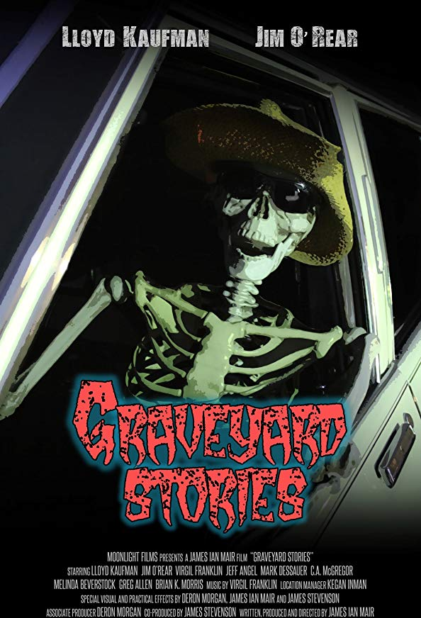 Graveyard Stories kapak