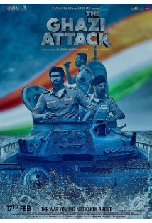 The Ghazi Attack kapak