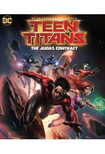 Teen Titans: The Judas Contract kapak
