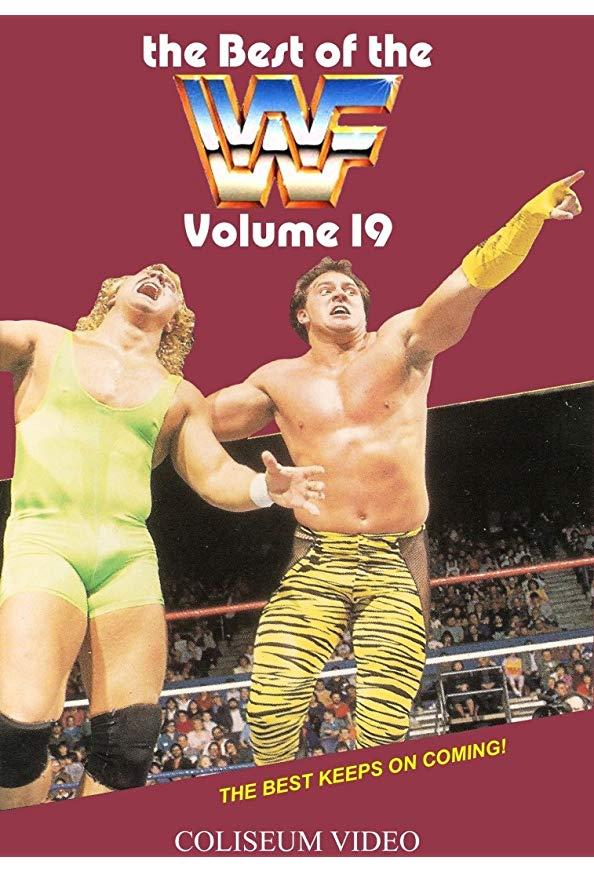 Best of the WWF Volume 19 kapak