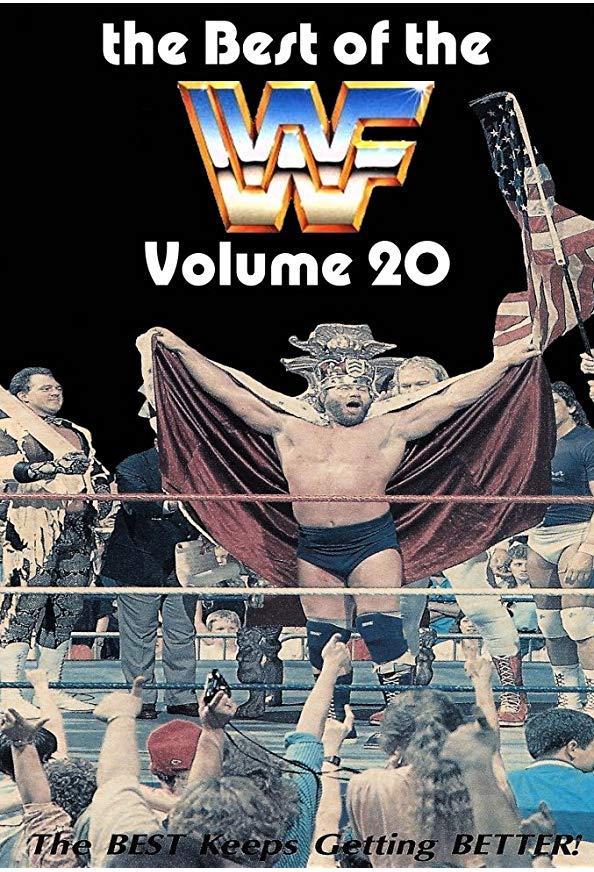 Best of the WWF Volume 20 kapak
