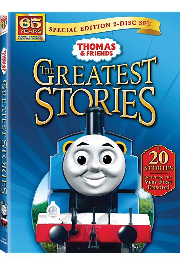 Thomas & Friends: The Greatest Stories kapak