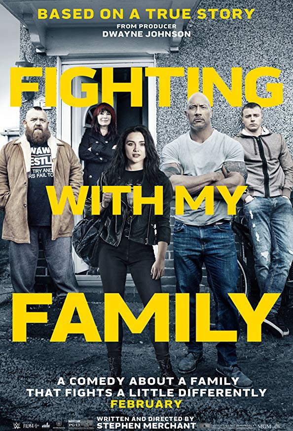 Fighting with My Family kapak