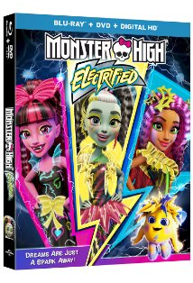 Monster High: Electrified kapak